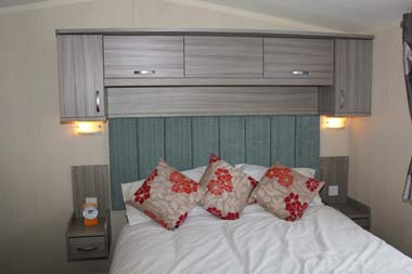Swift Moselle Holiday  Lodge Master Bedroom