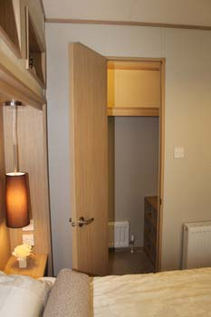 ABI Roxbury holiday home - Off the master bedroom is a walk-in wardrobe.