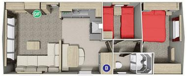 BK Caprice floor plan