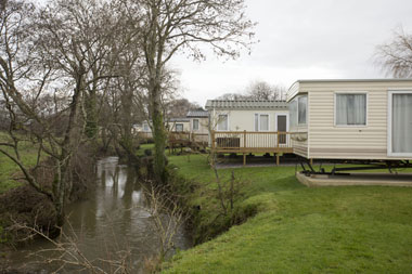 Dolphins River Park is situated close to the River Char