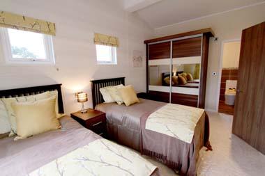 Prestige Bowmoor Bedroom 2 view to dressing area & ensuite