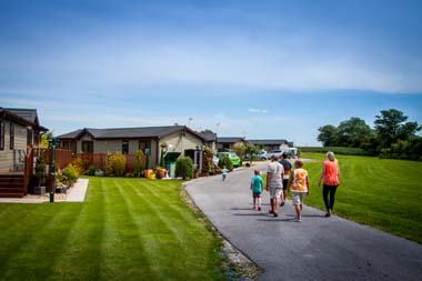 Holiday caravan park