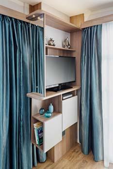 S-POD 2-berth TV unit