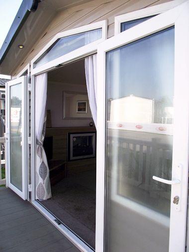 Swift Biarritz - Patio Door Entrance