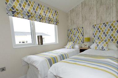 Wessex Contemporary Vue - Twin Bedroom
