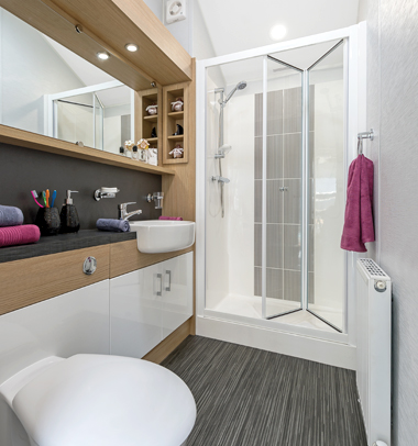 Willerby Linear - Family Shower Room