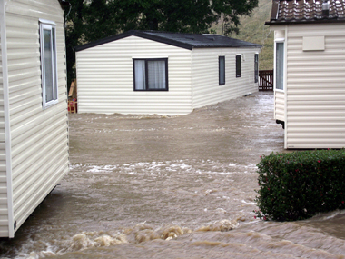 Complete guide on the effects of flooding to static caravans