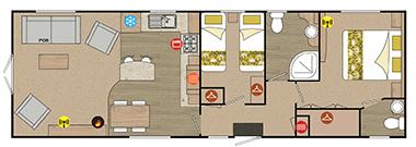 Regal Sandringham - Floor Plan