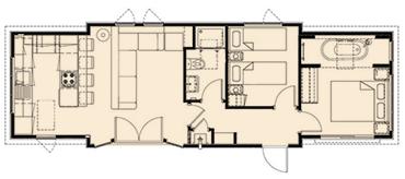 Tingdene Kudos Floorplan