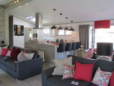Summit Lounge to Kitchen