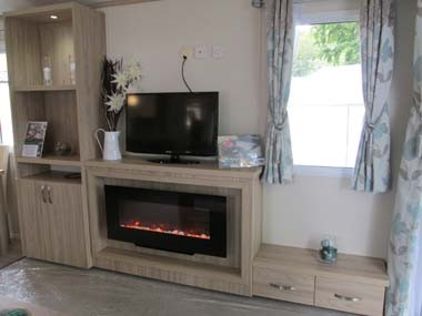 Regal Connaught Lounge Fire Place and TV Unit