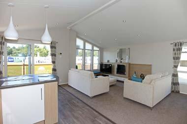Willerby Pinehurst Lodge lounge