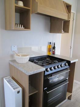 Willerby Vacation Kitchen Cooker Unit