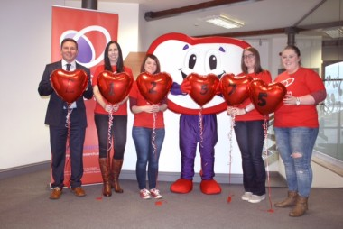Heart research target smashed