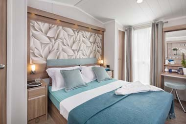 Chamonix Master Bedroom Wide