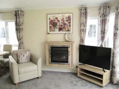 Willerby Sheraton Lounge Fireplace