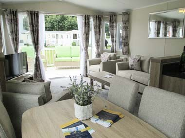 Willerby Sheraton Lounge From Kitchen