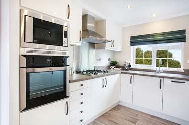 Park home kitchen