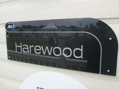 Harewood Sign