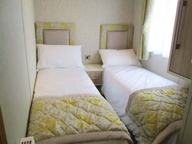Carnaby Helmsley Twin Bedroom