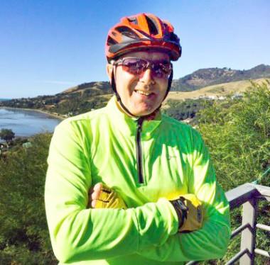 Peter Wilby Biker
