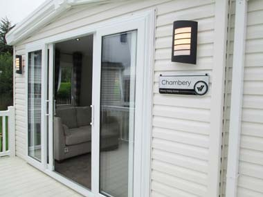 Willerby Chamberry Ext patio doors