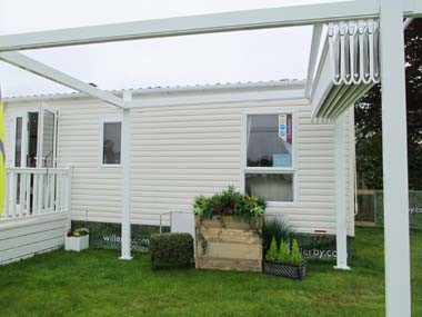 Willerby Chamberry Ext rear and Gazebo