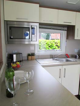 Willerby Chamberry  Kitchen Vert