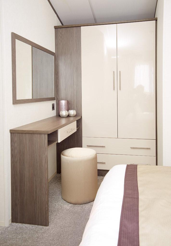 Atlas Portfolio double bedroom master vanity and wardrobes