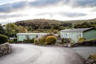Yorkshire caravan park