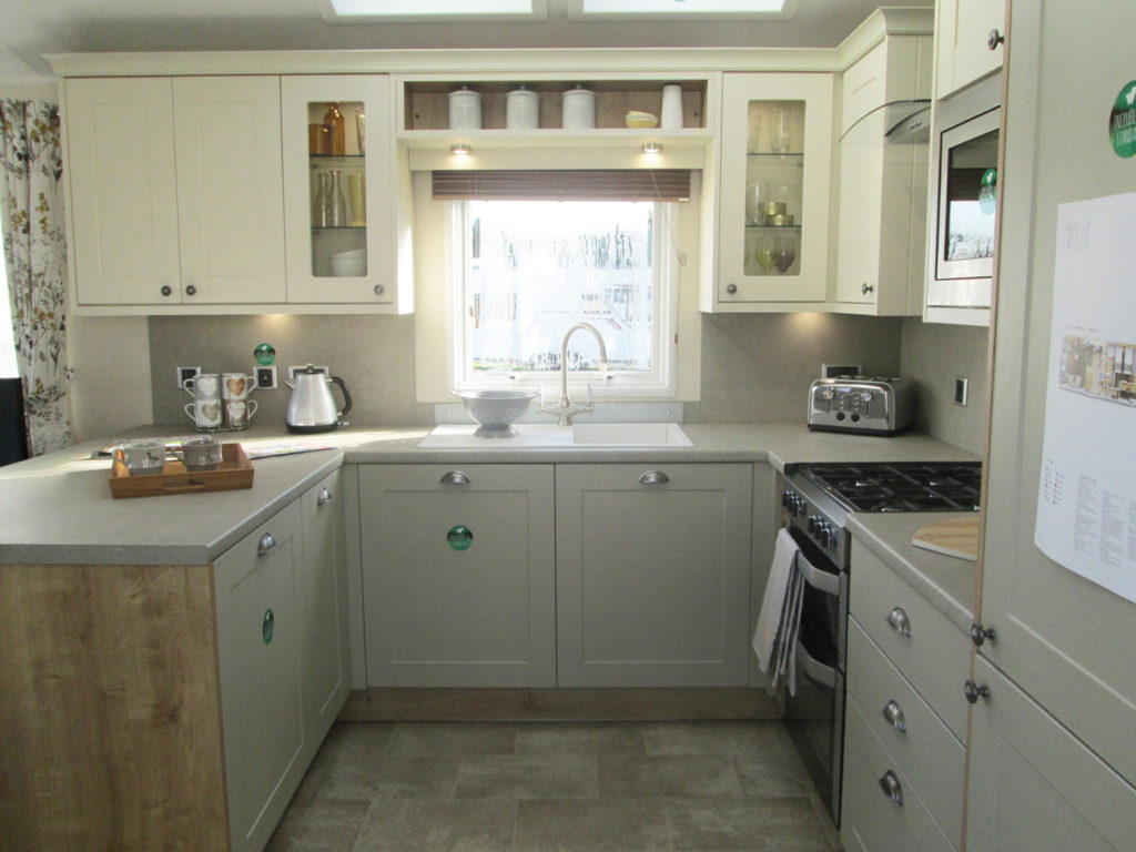 Vogue Lodge - Willerby Holiday Homes Ltd Kitchen