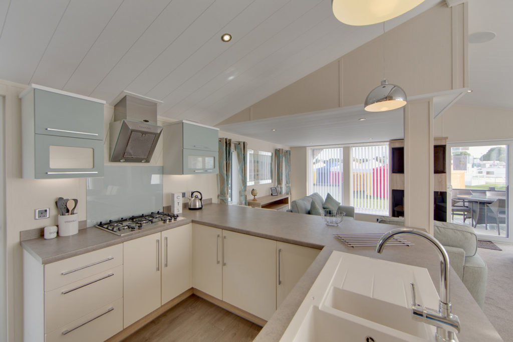 The Rutherford - Willerby Holiday Homes Kitchen
