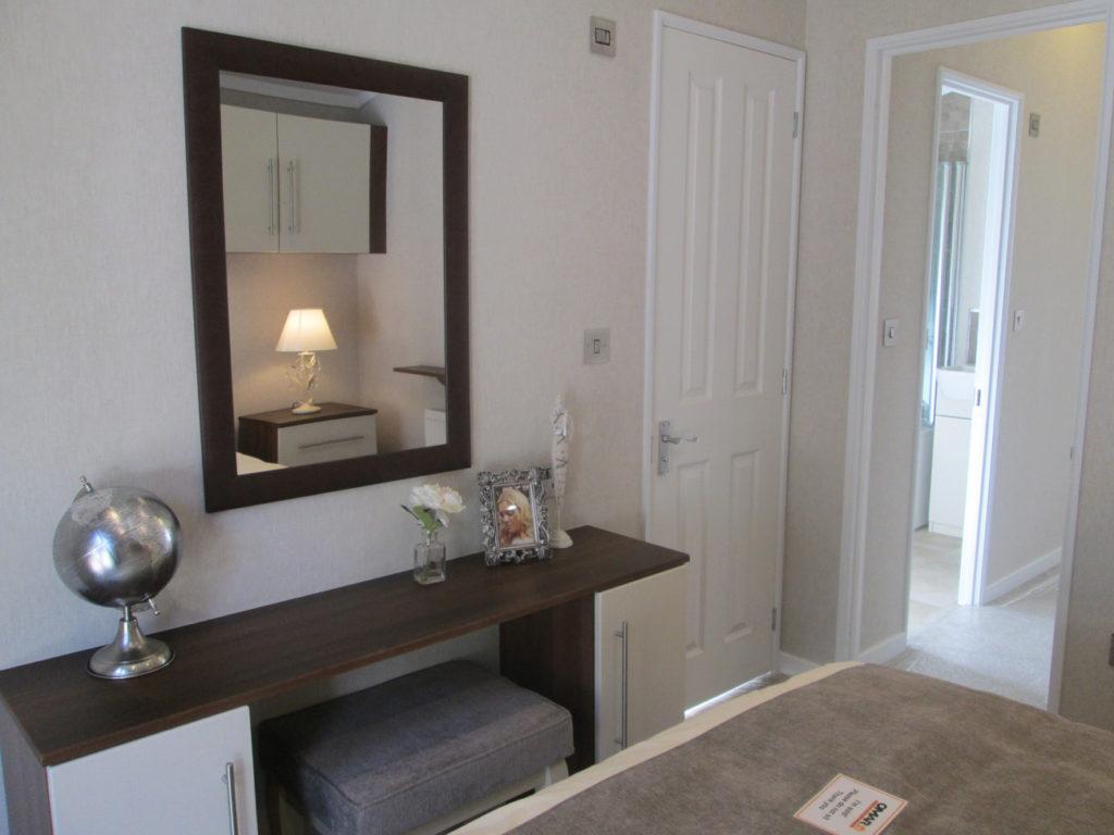 Omar Manhattan Bedroom 1 Vanity & Doors