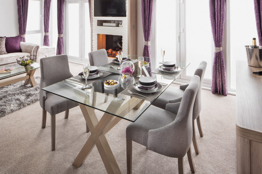 Swift Whistler Lodge Dining Table Wide