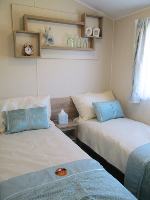 Willerby Lymington Twin Bedroom