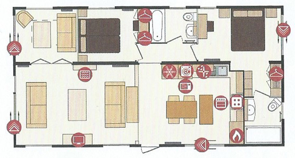 Pemberton Rivendale Lodge Floor Plan