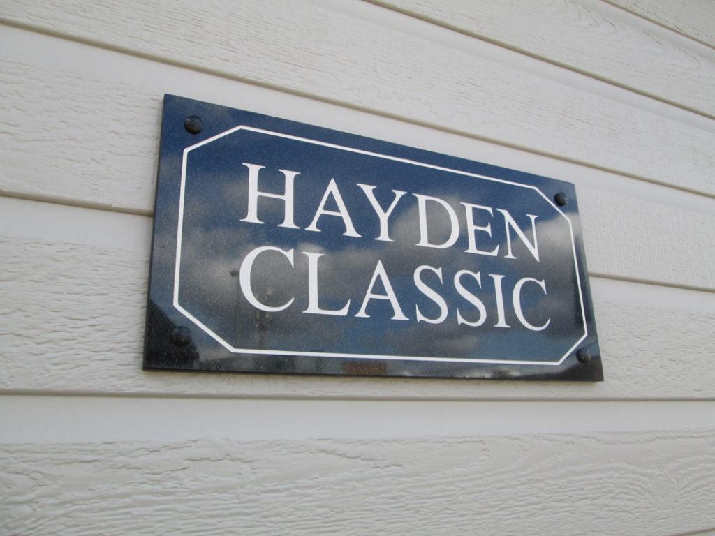 Tingdene Hayden Sign