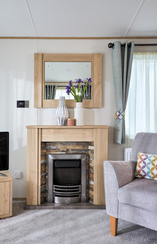 ABI Malham Fireplace and Mirror