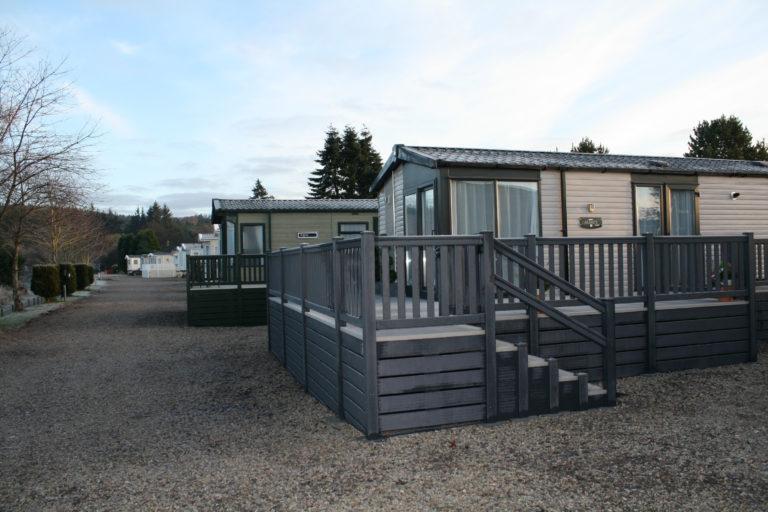 Scottish caravan park