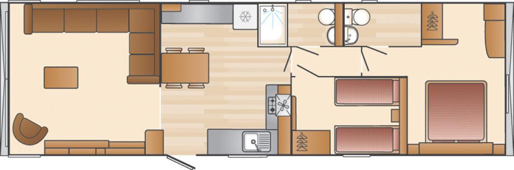 Swift Biarritz Floor plan