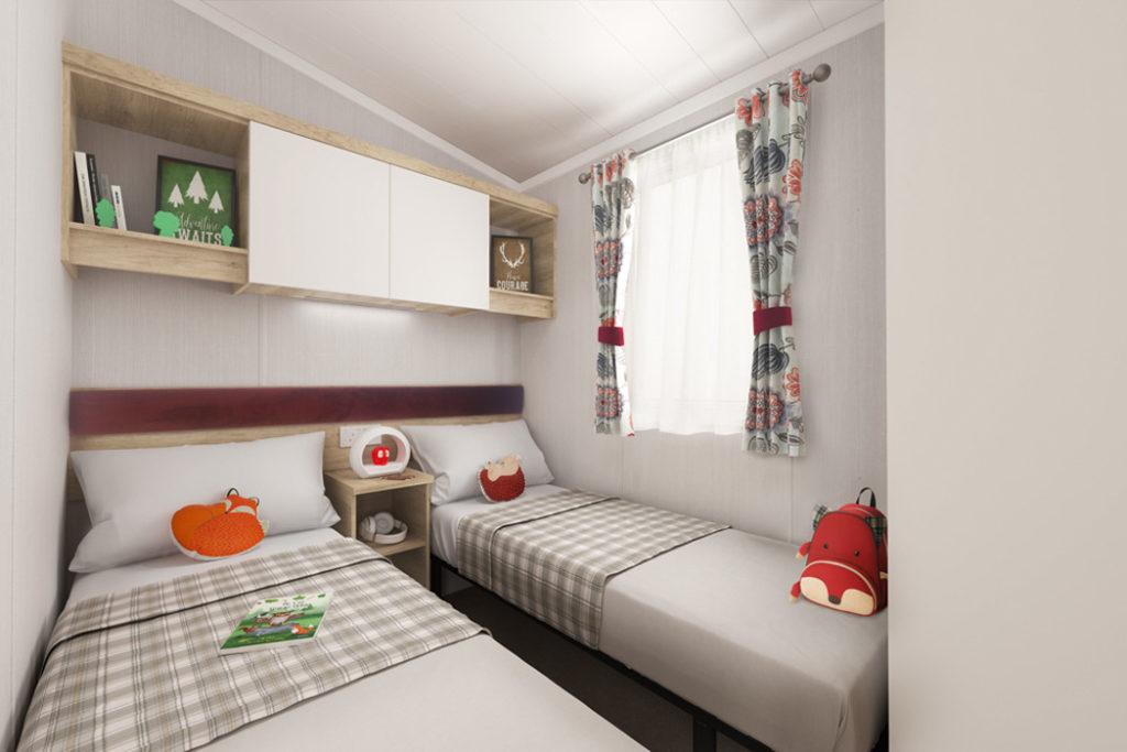 Swift Biarritz Twin Bedroom Wide