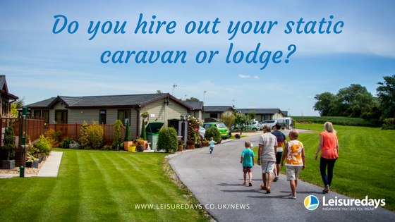 Do you hire out your static or lodge