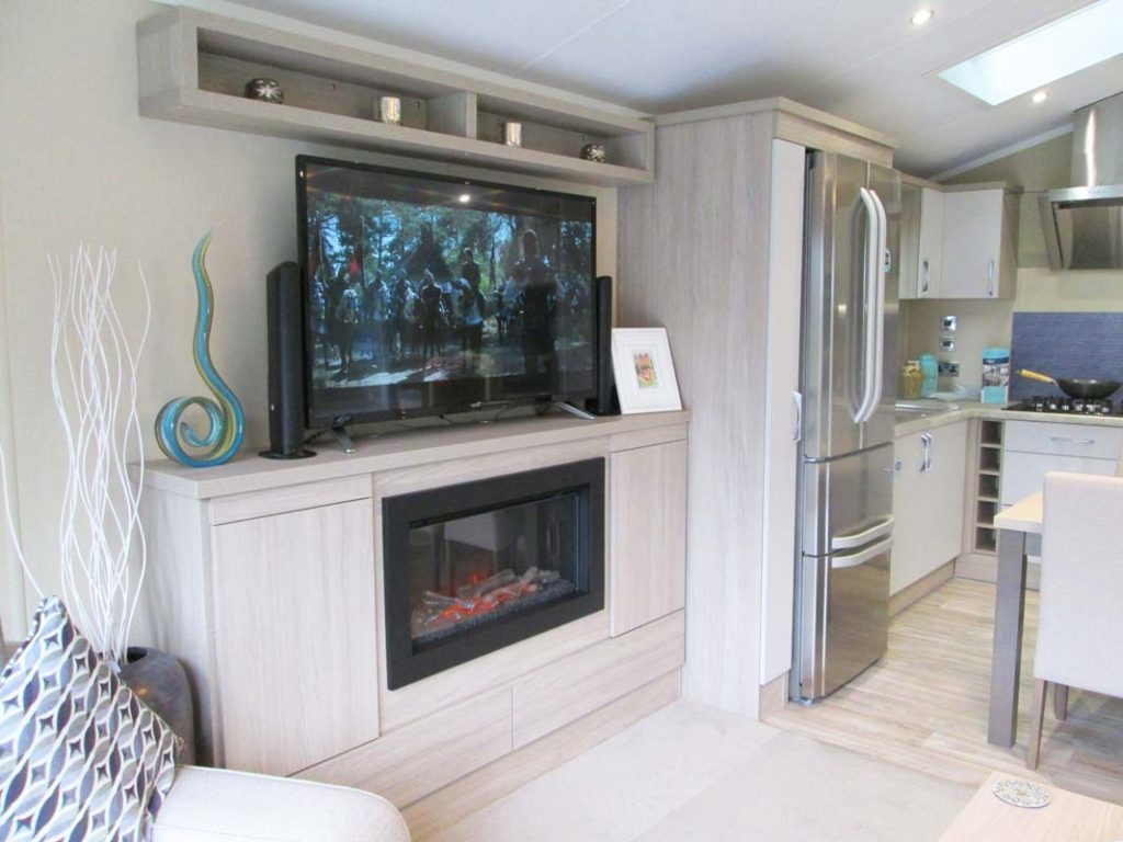 Regal Artisan Lounge TV and Storage