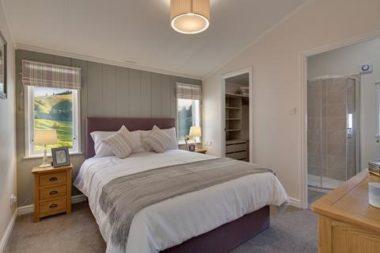 Willerby Juniper bedroom