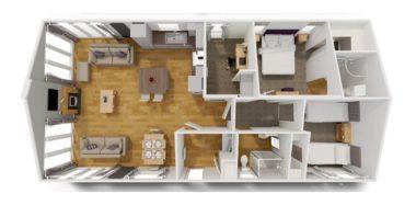 Willerby Juniper floorplan