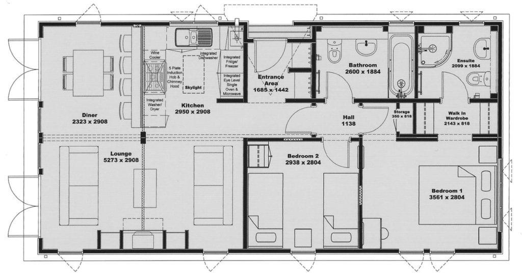 Tingdene Country Lodge Floor Plan