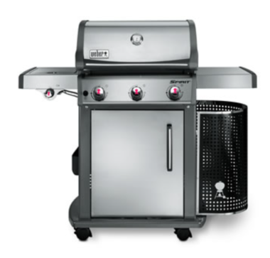 Weber Spirit gas barbecue
