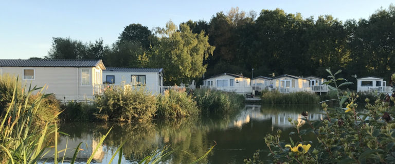outdoor heating for caravan and lodge